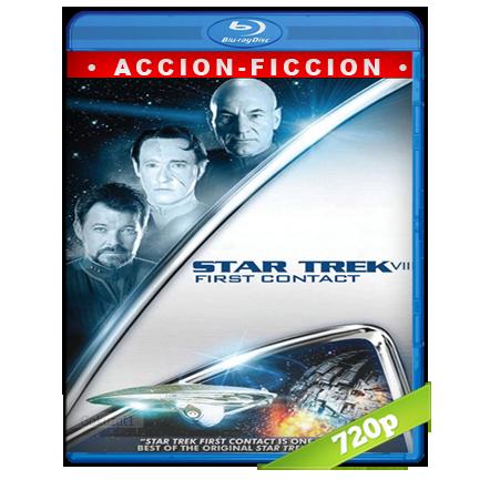 Viaje A Las Estrellas 8 Primer Contacto (1996) BRRip 720p Audio Trial Latino-Castellano-Ingles 5.1