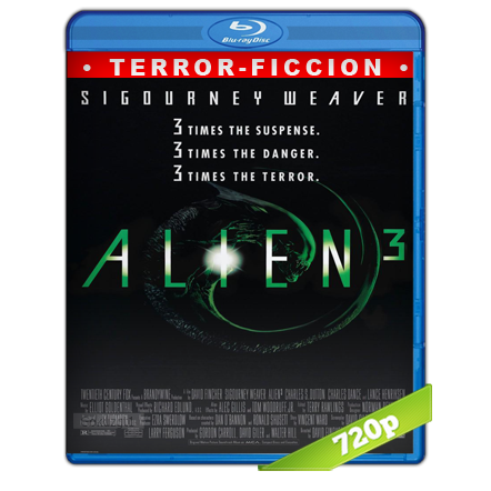 Alien 3 (1992) BRRip 720p Audio Trial Latino-Castellano-Ingles 5.1