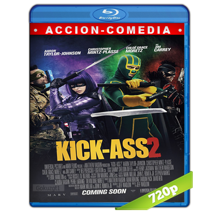 Kick-Ass 2 Con Un Par (2013) BRRip 720p Audio Trial Latino-Castellano-Ingles 5.1