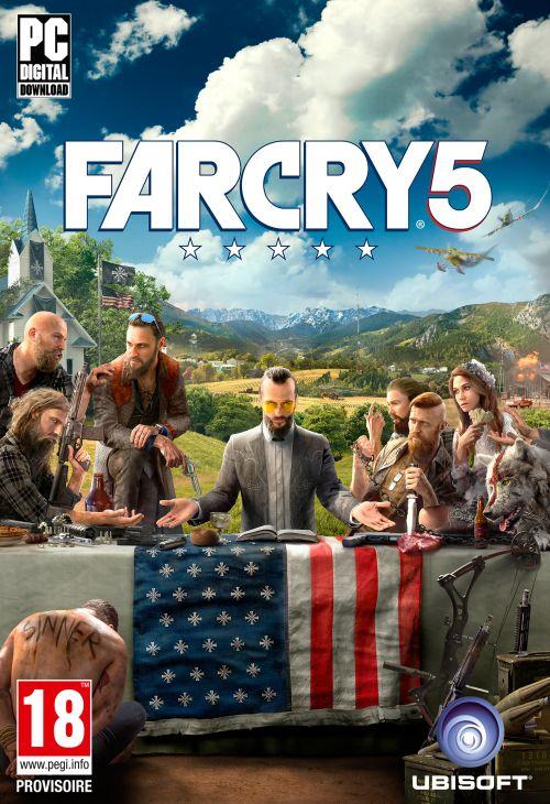 Far Cry 5 (2018) - CPY / POLSKA WERSJA JĘZYKOWA