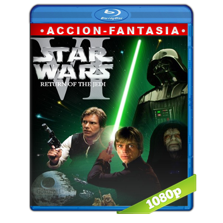 Star Wars Episodio VI El Regreso Del Jedi (1983) BRRip Full 1080p Audio Trial Latino-Castellano-Ingles 5.1