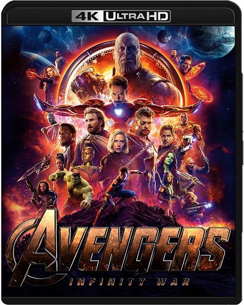 Avengers: Wojna bez granic / Avengers: Infinity War (2018) PLSUB.REMUX.2160p.UHD.Blu-ray.HDR.HEVC.ATMOS7.1-DENDA / NAPISY PL