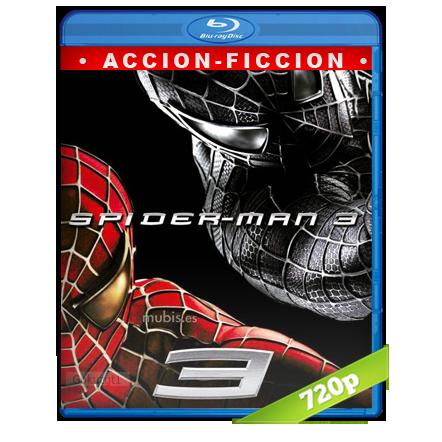 El Hombre Araña 3 (2007) BRRip 720p Audio Trial Latino-Castellano-Ingles 5.1