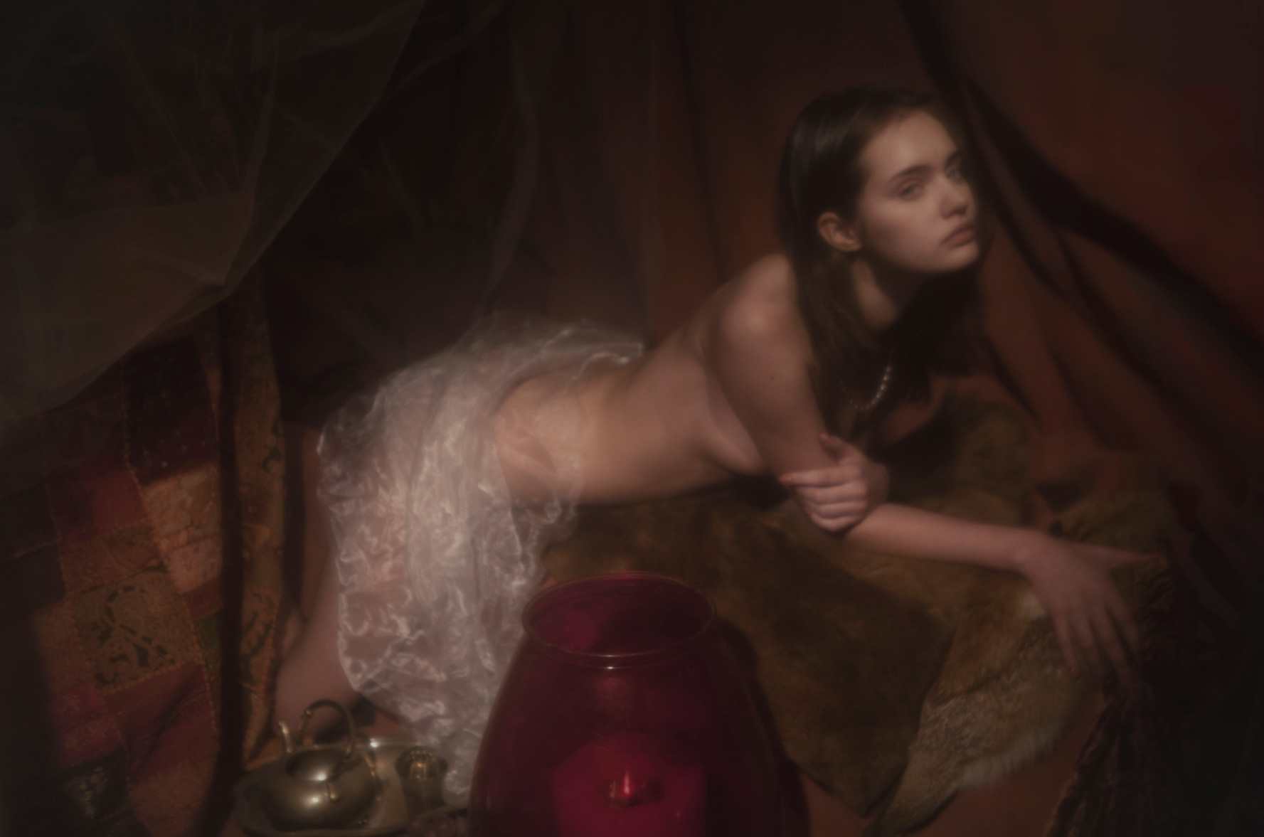 -Одалиска- Ольга Збитковская / Olga Zbitkovskaja by Nil Hoppenot / The Ones 2 Watch