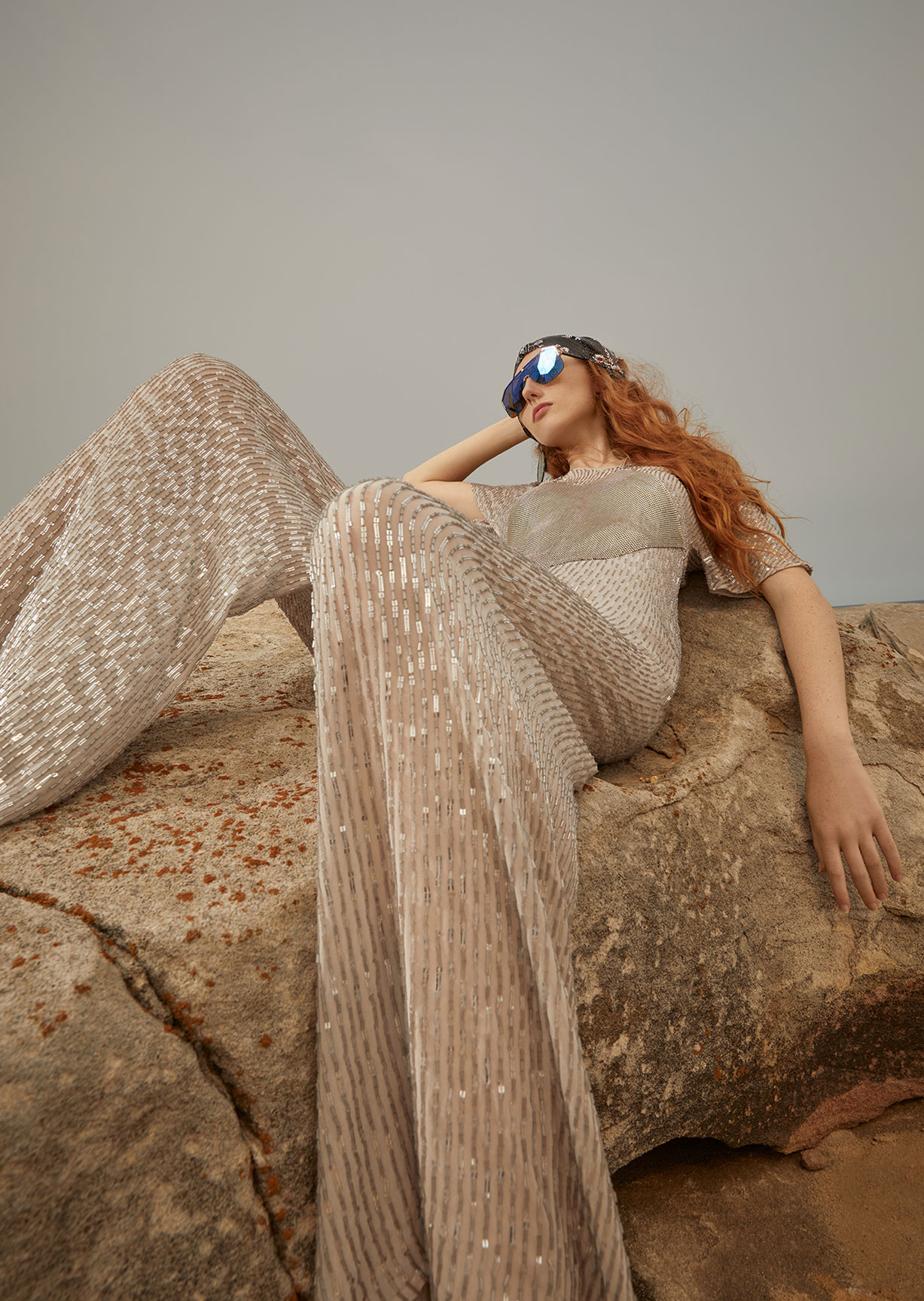 Модный маскарад в журнале Grazia / фото 10