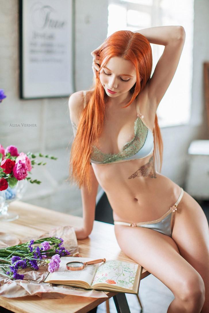 Irina Adelina by Alisa Verner - Botanique