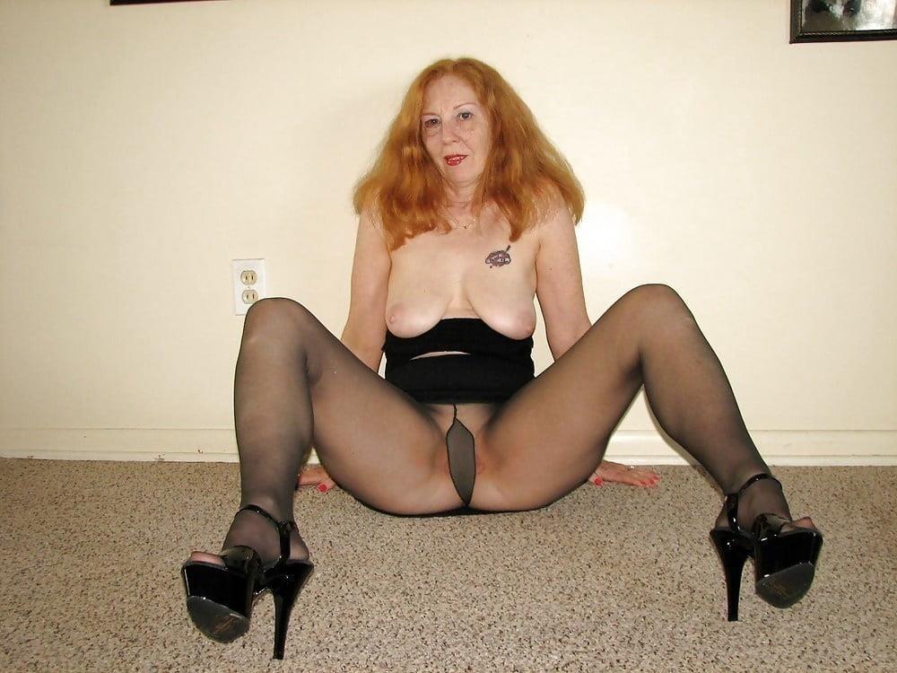 Ginger granny anal-9214