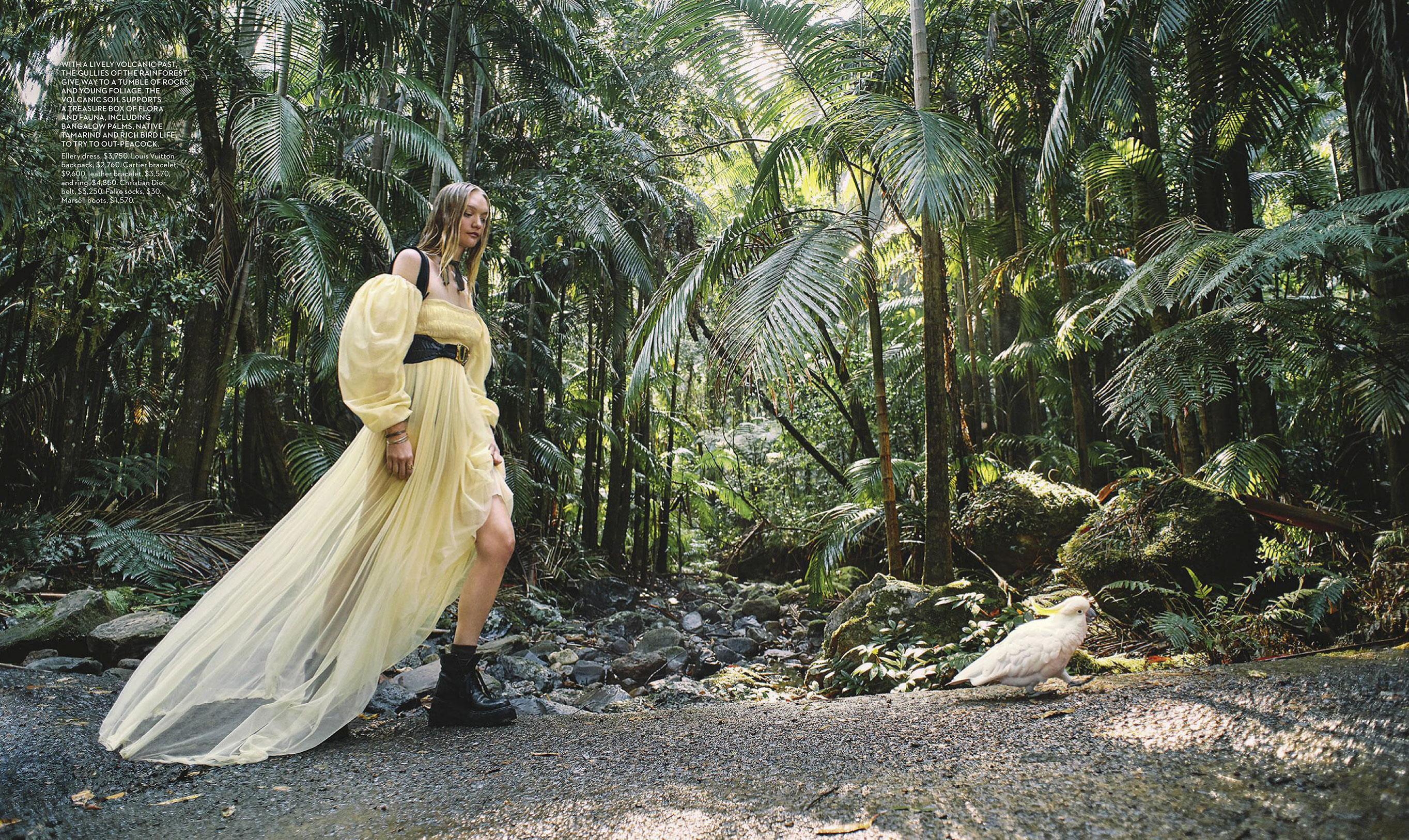 Джемма Уорд с семьей путешествует по лесам Нового Южного Уэльса / фото 04