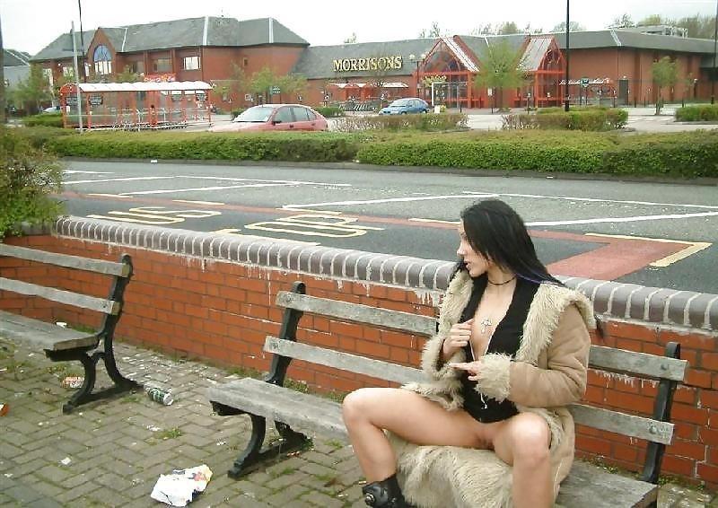 Teen dildo in public-2976