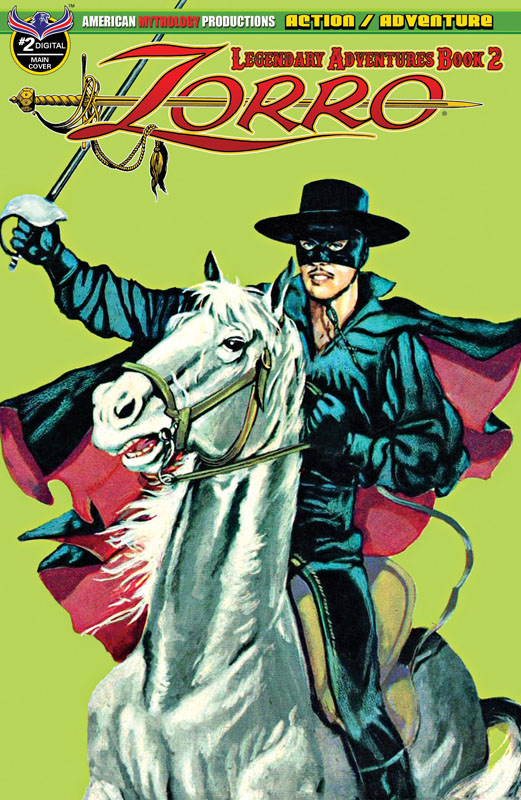 Zorro - Legendary Adventures Book 2 #1-4 (2019)