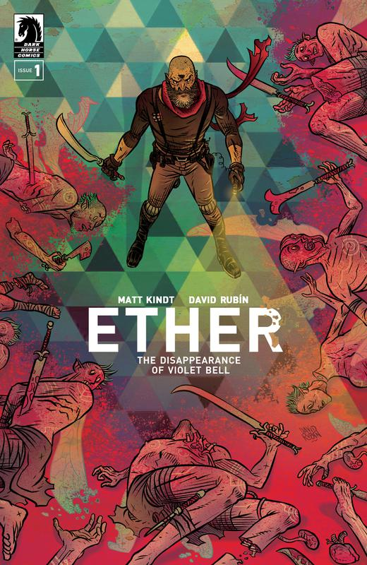 Ether - The Disappearance of Violet Bell #1-3 (2019-2020)