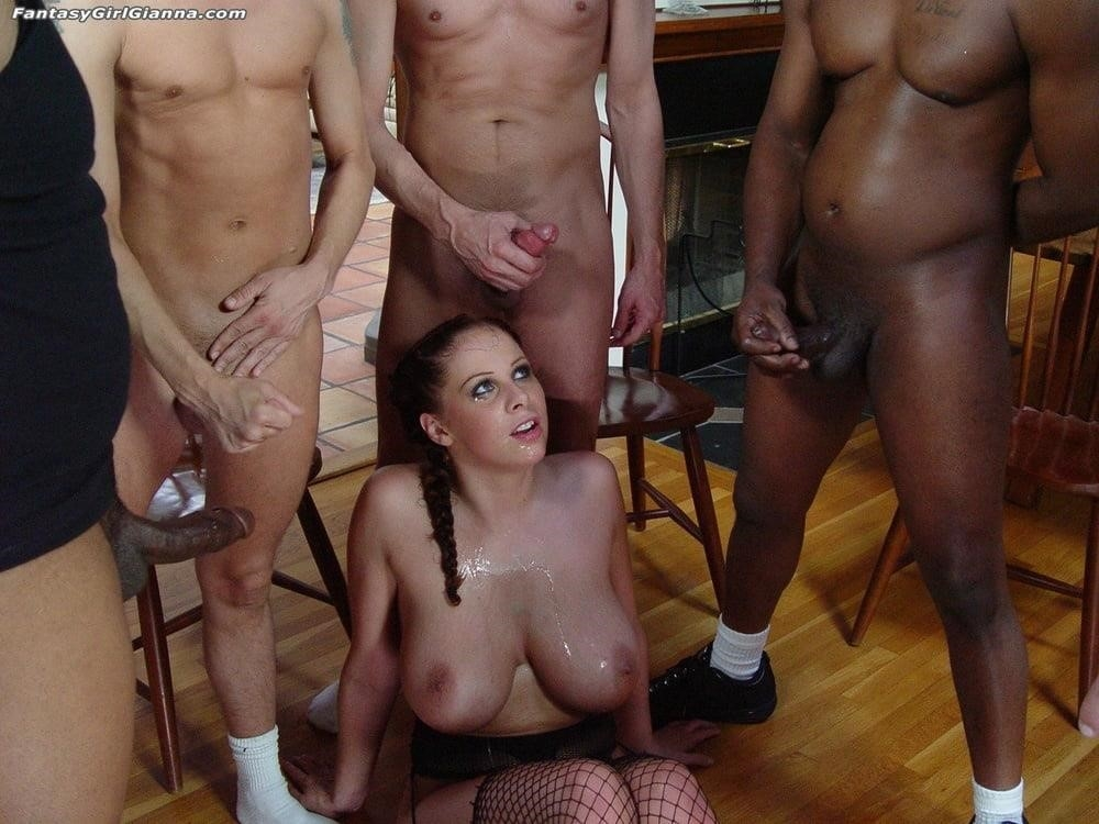 Asian tits bukkake-3898