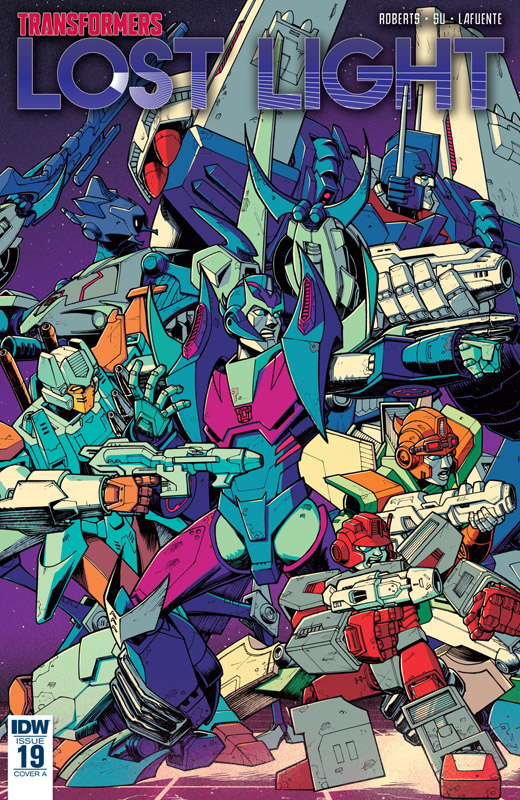 The Transformers - Lost Light #1-25 (2016-2018)