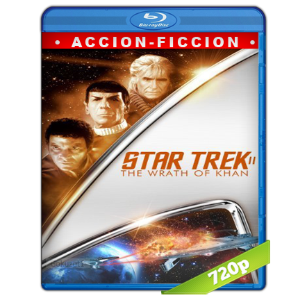 Viaje A Las Estrellas 2 La Ira De Khan (1982) BRRip 720p Audio Trial Latino-Castellano-Ingles 5.1