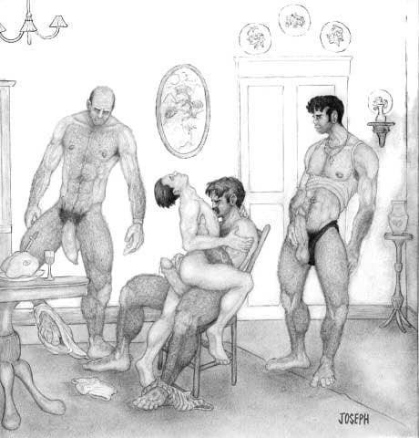 Dad son gay cartoon porn-9102