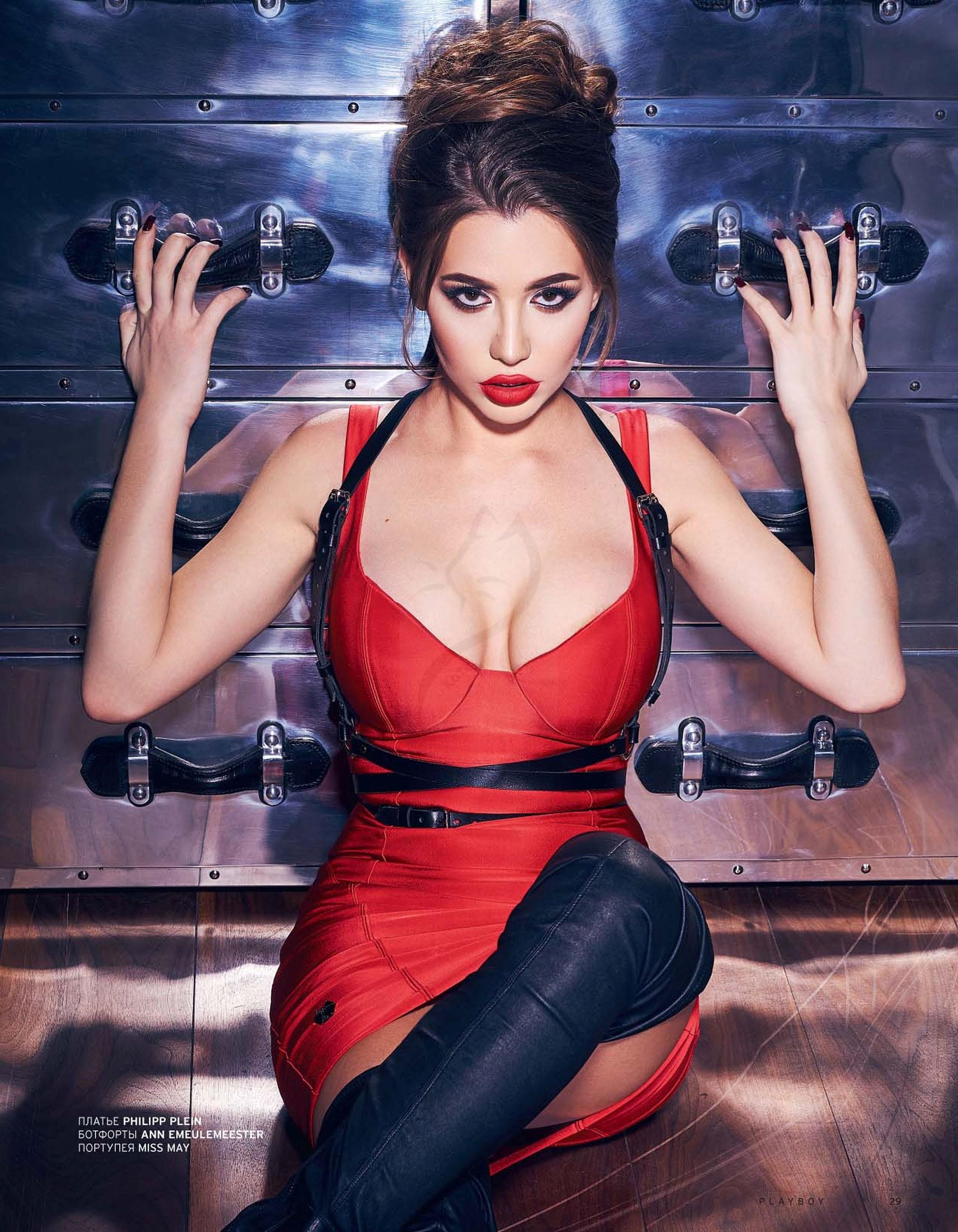 Лия Ситдикова - победительница конкурса Девушка года Playboy Россия 2017