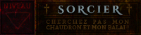 Sorcier -staff-