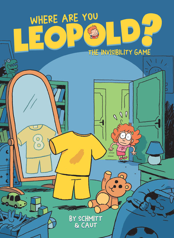 Where are You, Leopold, Book 01 - The Invisibility Game (2020)