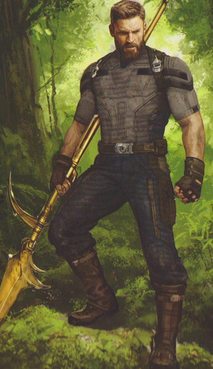 Avengers Infinity War Hi Res Concept Art Shows Captain