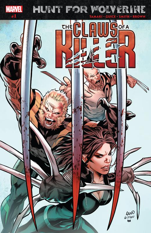 Hunt for Wolverine - The Claws of a Killer #1-4 (2018)
