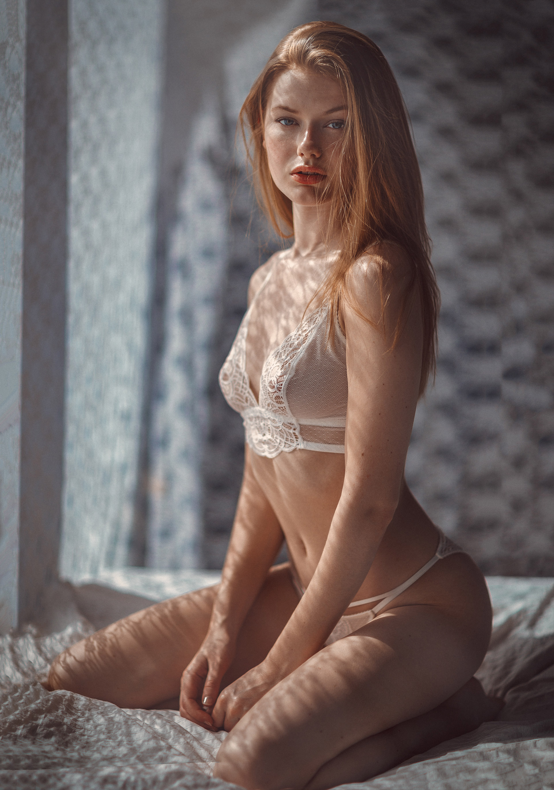 Anna Levsen in sexy lingerie by Thomas Agatz