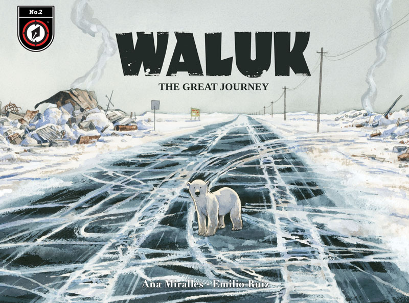 Waluk - The Great Journey #1-4 (2021)
