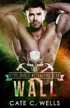 Wall  A Steel Bones Motorcycle   Cate C Wells