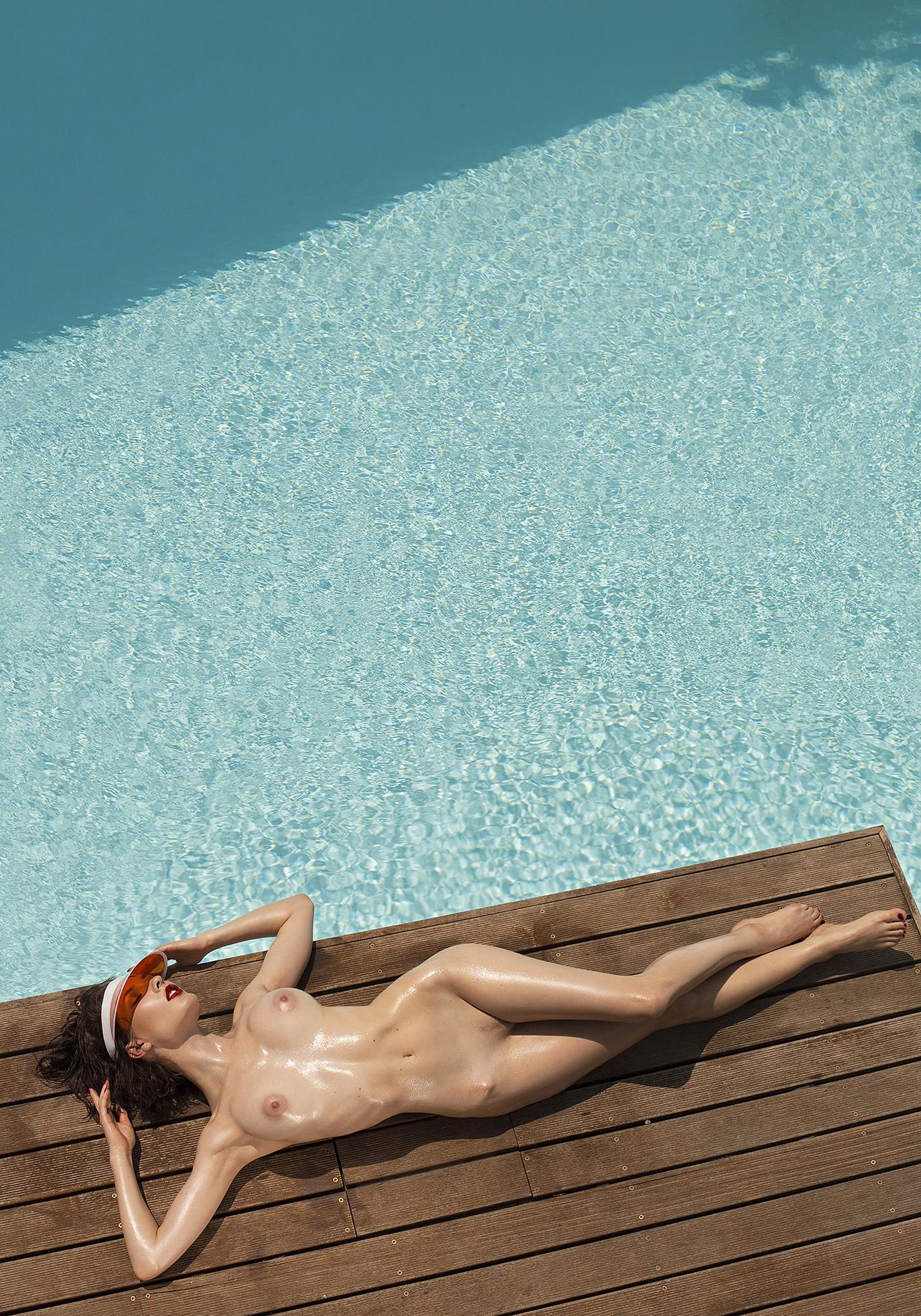 Playboy international Playmate Caprice Castillo nude by Ana Dias