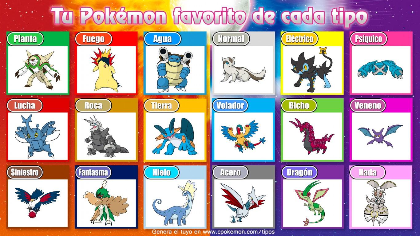 ¿Cuál es tu Pokémon favorito de cada tipo? IE8ZJHoE_o
