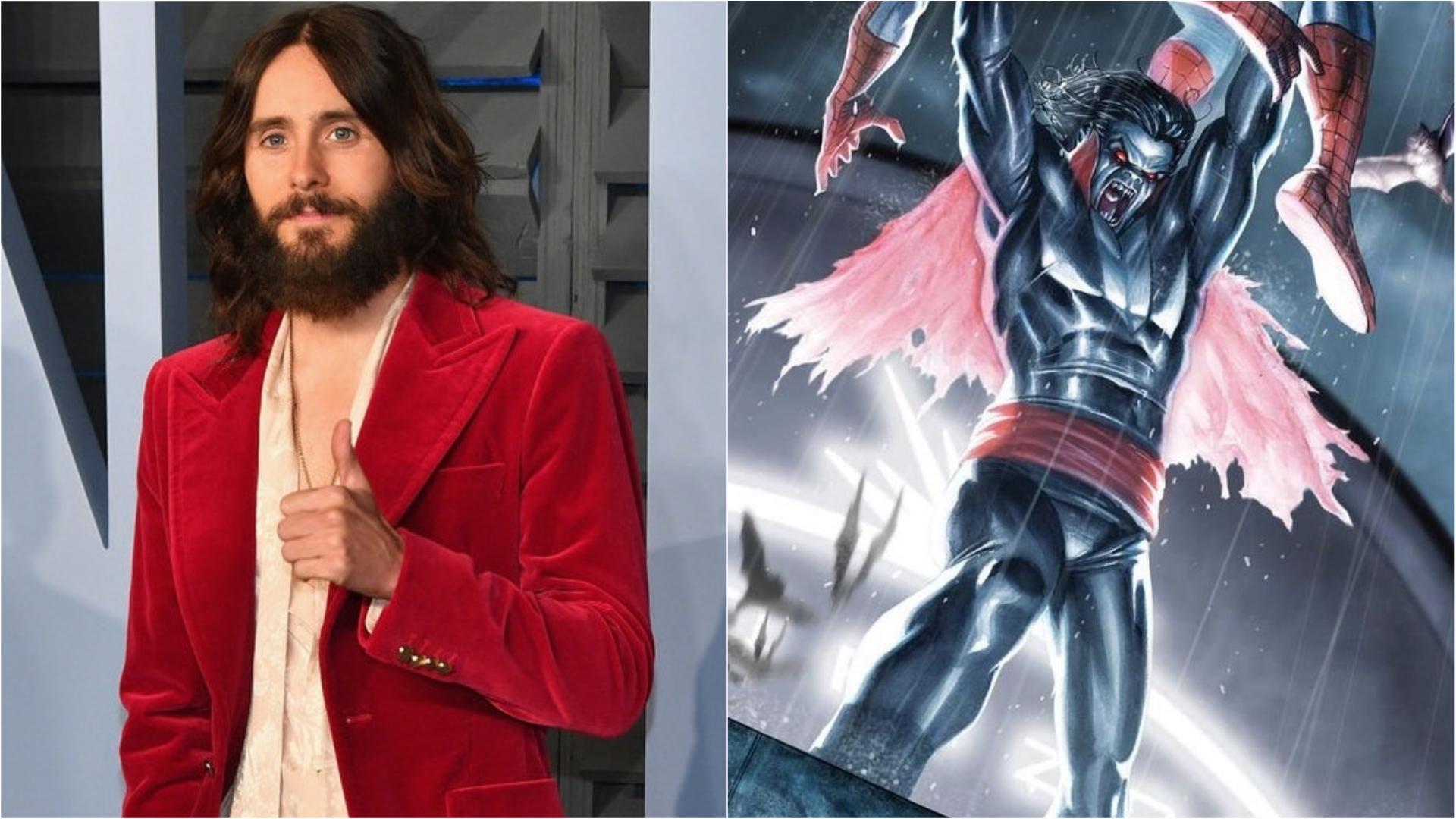 Jared Leto Morbius >> Suicide Squad Star Jared Leto Set To Star As Morbius The