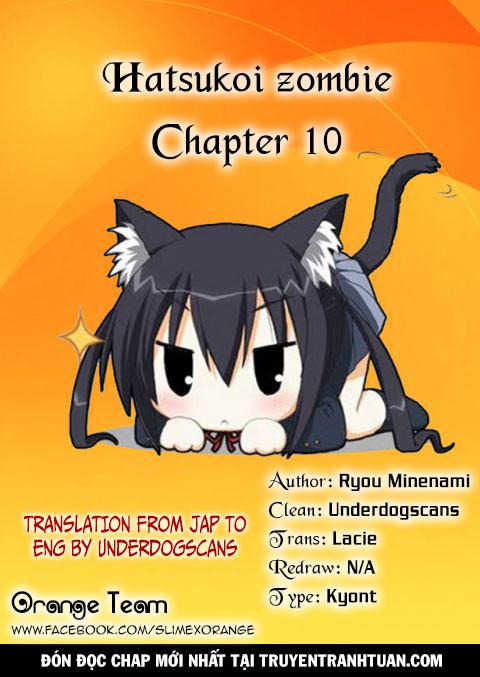 Hatsukoi Zombie Chapter 10 - Trang 21