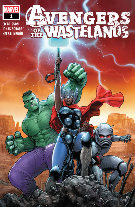 Avengers of the Wastelands 001 (2020)