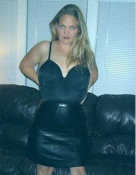 Tu leather skirt-2876