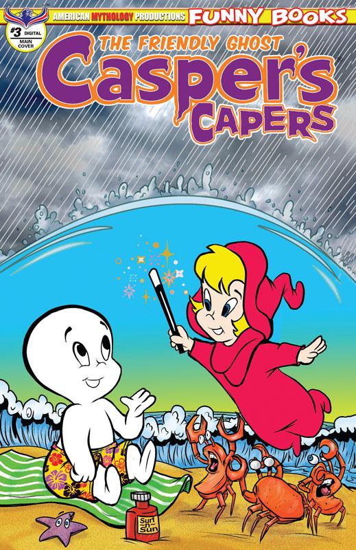 Casper's Capers #1-3 (2018-2019)