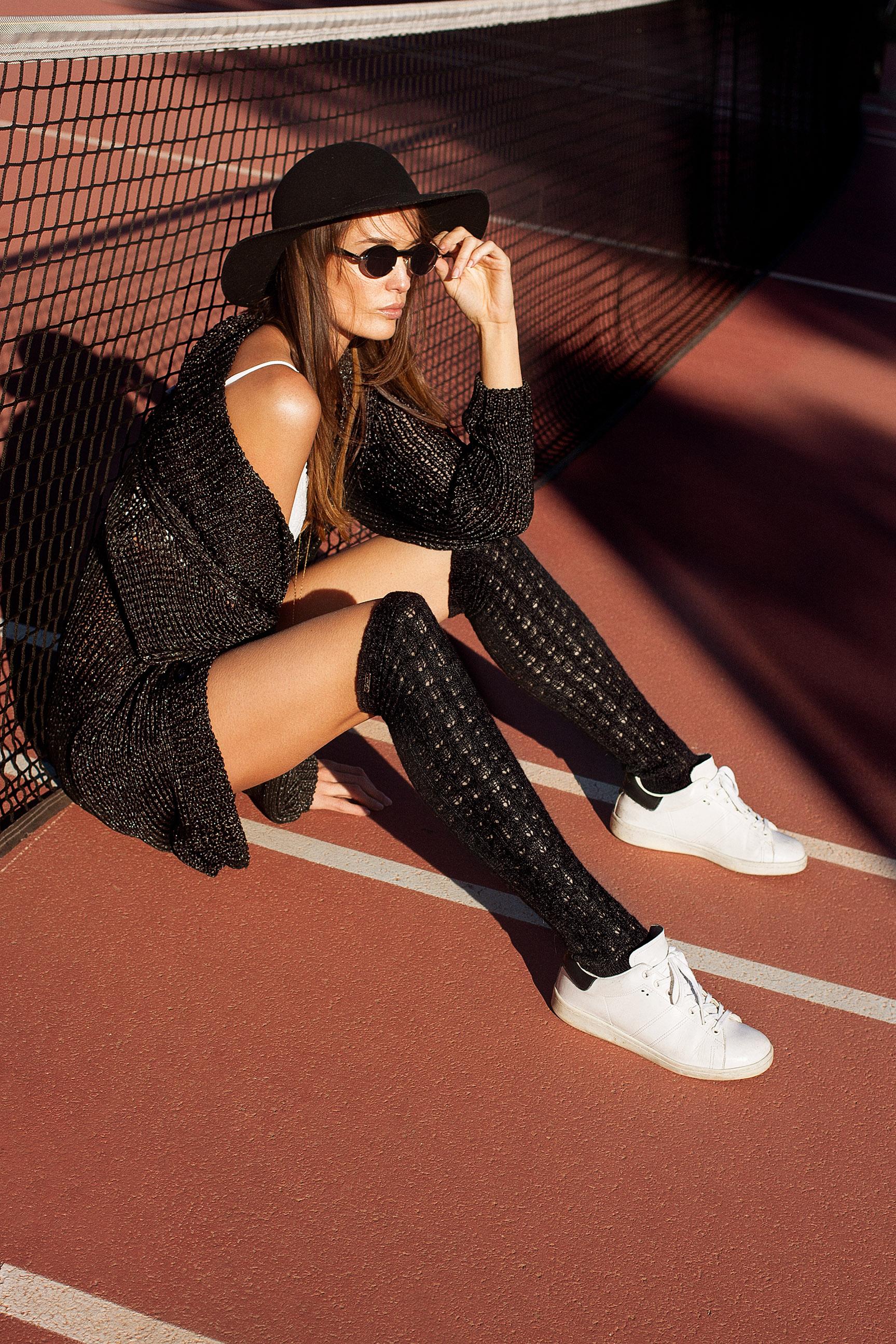 Разминка перед игрой в теннис / фото 02