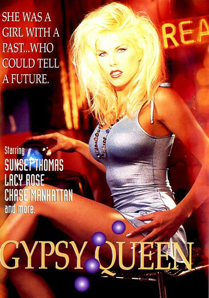 Gypsy Queen / Цыганская Королева (Gail Force, Coast To Coast) [1994 г., Feature, All Sex, Girl-Girl, Anal, Facial, DVDRip] (Sunset Thomas, Diamond, Chayse Manhattan, Nicole Lace, Sunset Thomas, Lacy Rose, Paul Morgan, Gerry Pike, Michael J. Cox, Rick ]