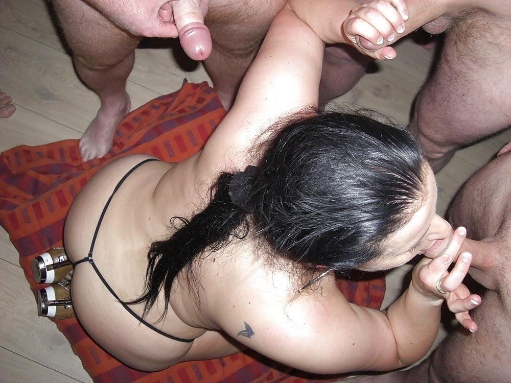 Fat mature bukkake-9029