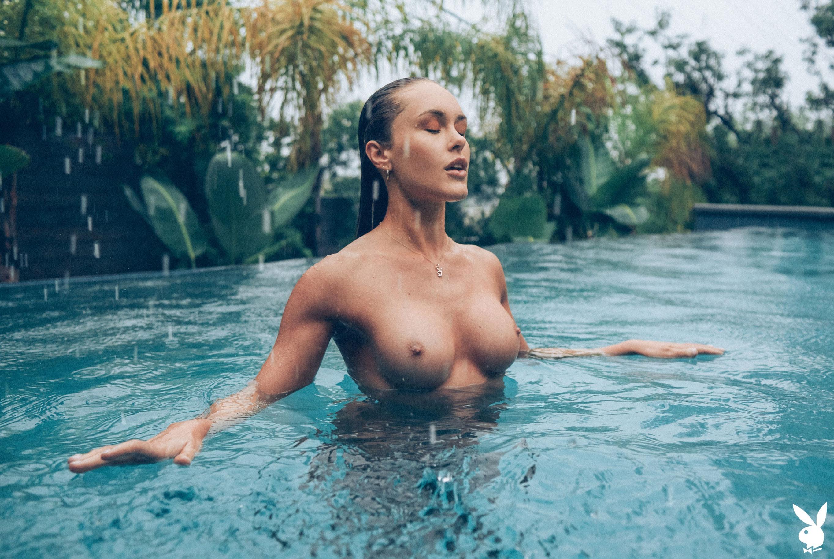 Девушка месяца Эбигейл О'Нил - Playboy США, май 2019 / фото 11