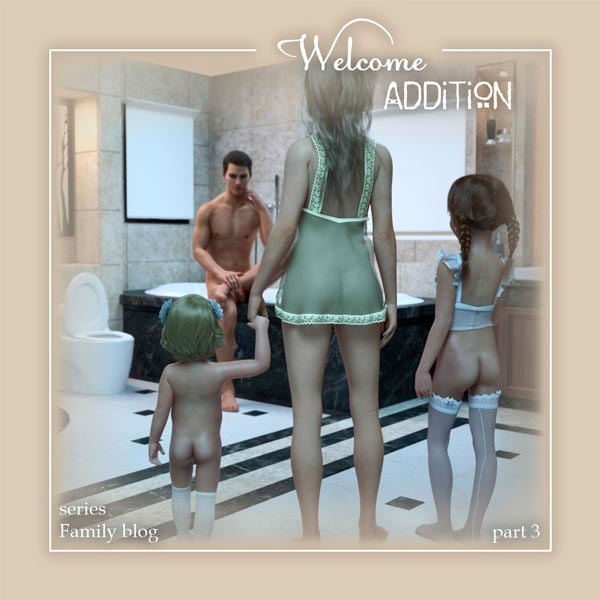 [Starkers] Welcome ADDITION (series: Family blog. Part 3)