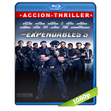 Los Indestructibles 3 1080p Lat-Cast-Ing[Acción](2014)