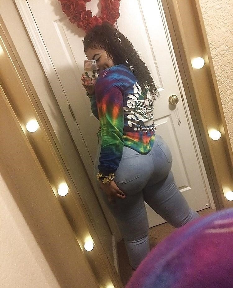 Thick black booty solo-5050