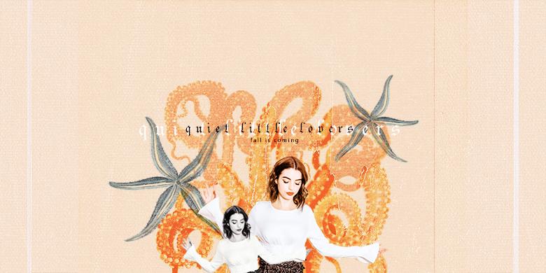 ❊ quiet little lovers