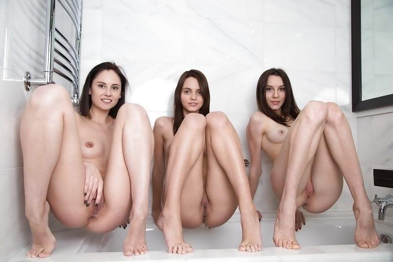 Skinny brunettes nude-6575