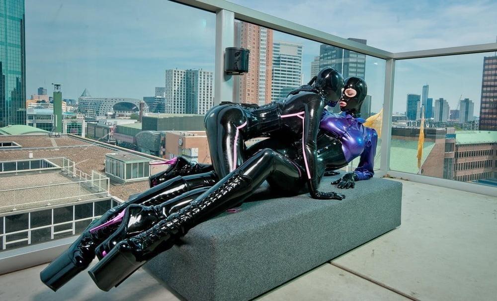 Naked girls latex-6163