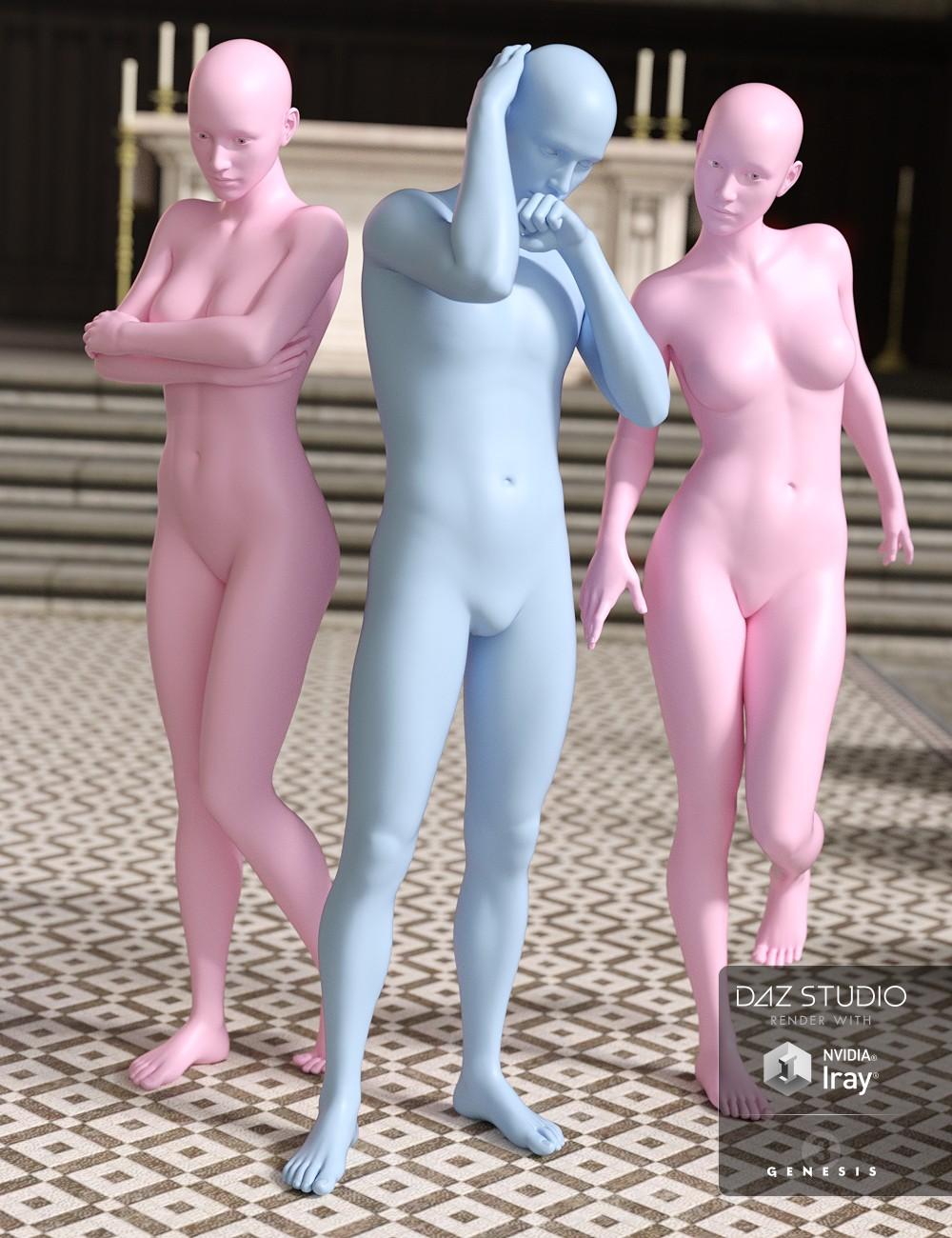 Who Done It Sacrament Poses for Genesis 3