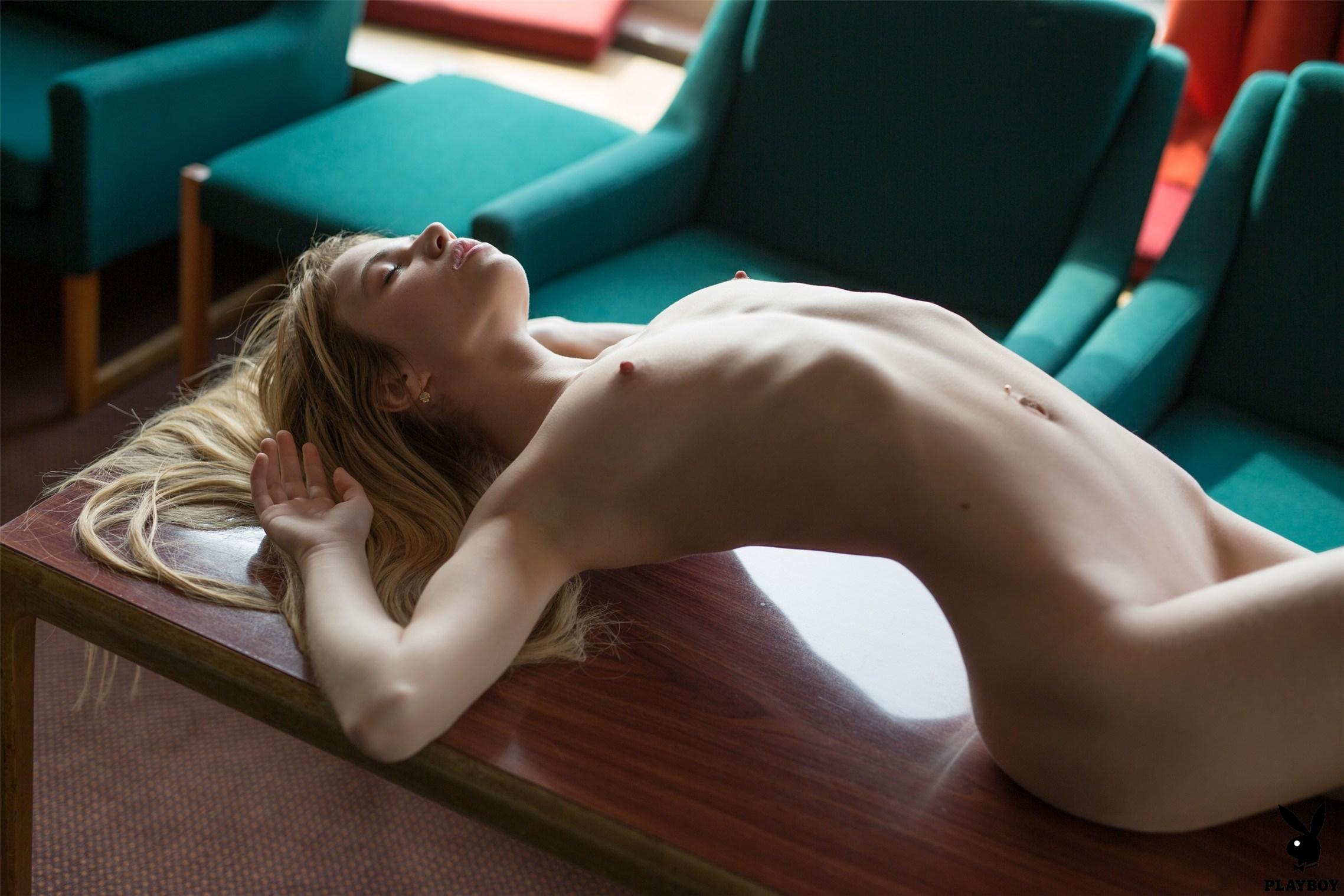 Aleksandra Smelova nude by Henrik Pfeifer / Private Encounter - Playboy Plus