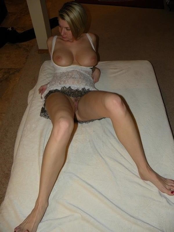Short blonde with big tits-3271