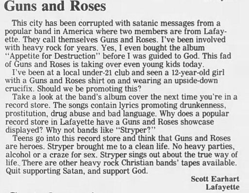 1989.02.21/04.10 - Journal and Courier (Lafayette, IN.) - Readers' letters/Debate on GN'R AOSNwelO_o