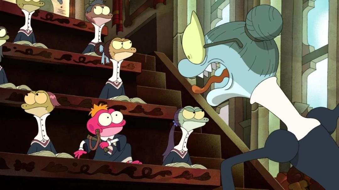 Amphibia S02E14E15 Lost in Newtopia-Sprig Gets Schooled 720p DSNY WEB-DL AAC2 0 x264-LAZY