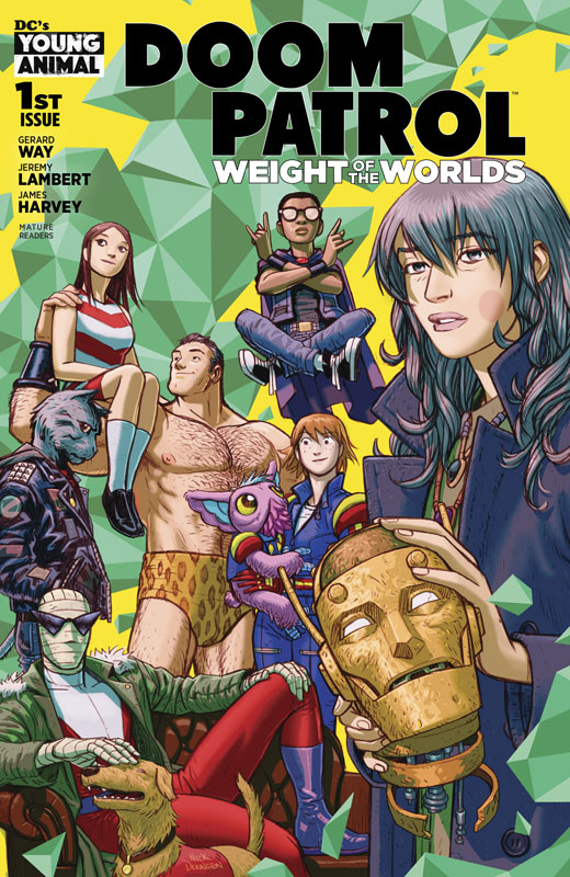 Doom Patrol - Weight of the Worlds #1-7 (2019-2020)